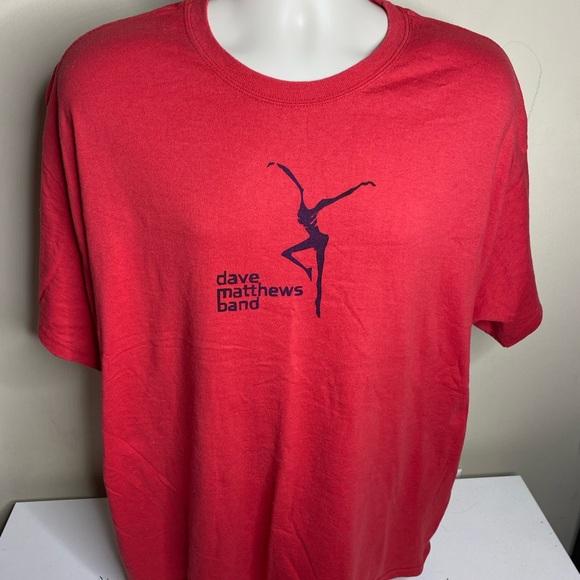 Vintage Dave Matthews band t shirt men's size XXL